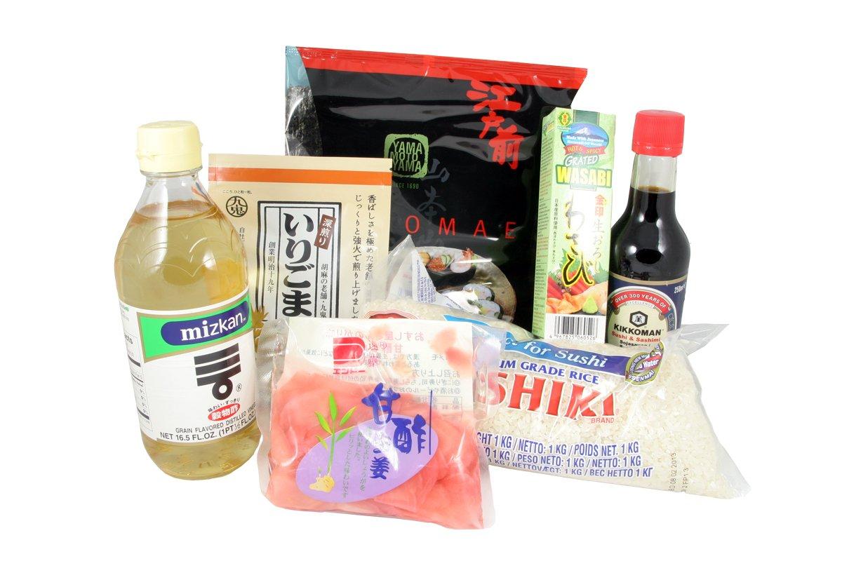 kit sushi pour quatre personnes. Black Bedroom Furniture Sets. Home Design Ideas