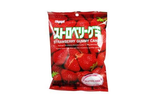 Bonbons gummy à la fraise - 107 g