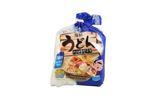 Nouilles Udon précuites saveur Fruits de mer - 3 x 220 g