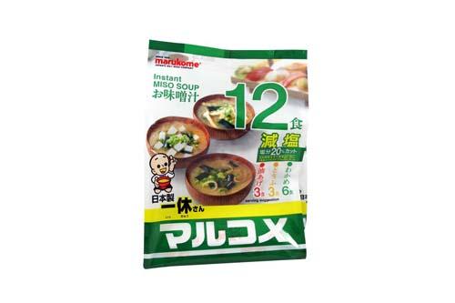 Soupe Miso allégée en sel par 12 - 3 soupes