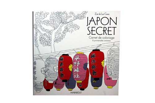 Japon secret - Carnet de coloriage - Marabout