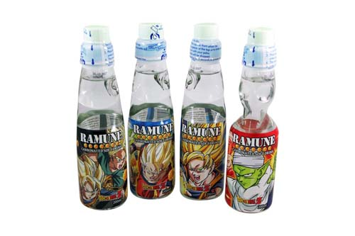 Limonade Japonaise Ramune STO - Dragon Ball Z - 20 cl