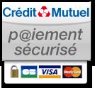Paiement sécurisé par le Crédit Mutuel