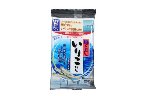 Iriko Dashi aux anchois: 7 portions de 8 g