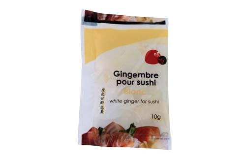 Gari/Sushi gingembre nature en mini-sachet