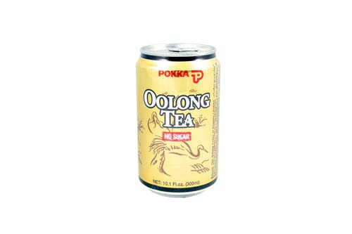 Thé Oolong en canette de 300 ml