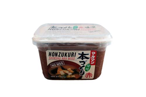 Miso rouge traditionnel Maruman 500 g